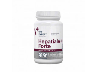 VetExpert Hepatiale Forte Small Dog/Cat, поддержания функций печени собак мелких пород и кошек 40 капсул