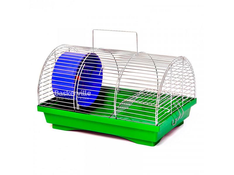 Лори Клетка для грызунов БУНГАЛО 1, цинк 330х230х200