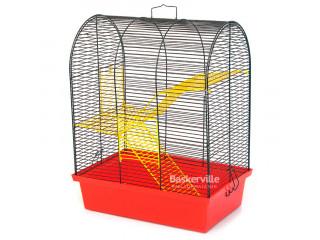 Лори Клетка для грызунов БУНГАЛО 3, эмаль 330х230х430
