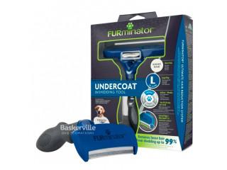 Фурминатор для собак FURminator с короткой шерстью размер L
