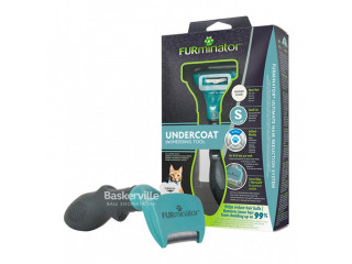 Фурминатор инструмент против линьки FURminator S для маленьких кошек c короткой шерстью New design