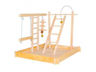 Игровая площадка для попугаев (20см х 30см х 25см)