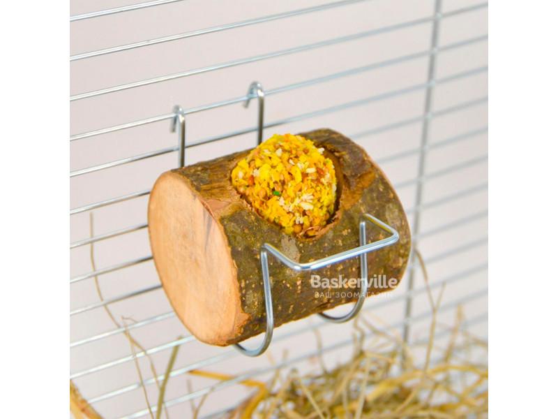 Кормушка с корой для птиц (5см х 6 см)