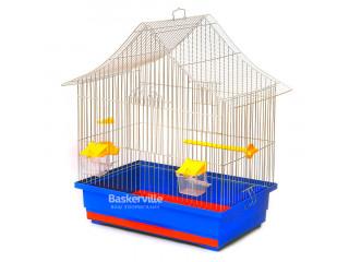 """Лори Клетка для птиц """"Алиса"""" цинк (470х300х540)"""