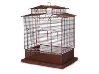 Клетка для попугаев Лори Loft Ирена (Ірена) в форме домика 43*31*53