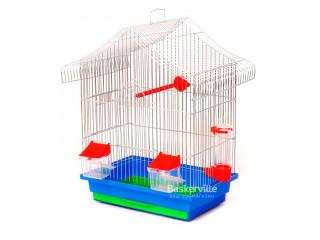 """Лори Клетка для птиц """"МИНИ-1"""" цинк (330х230х450)"""
