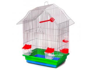 """Лори Клетка для птиц """"МИНИ-2"""" цинк (330х230х470)"""