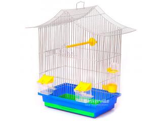 """Лори Клетка для птиц """"МИНИ-3"""" цинк (330х230х470)"""