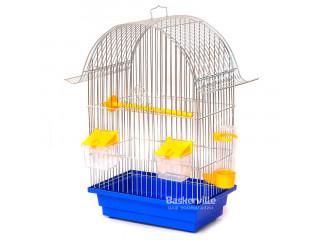 """Лори Клетка для птиц """"РЕТРО"""" цинк (280х180х450)"""