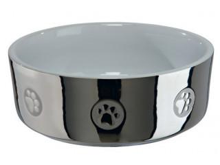 Керамическая миска Trixie Silver для собак
