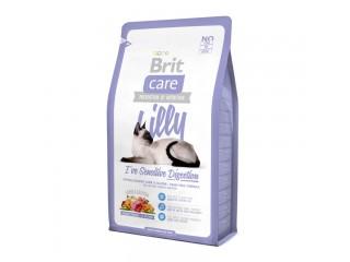 Brit Care Cat Lilly с ягненком и лососем для кошек с чувствительным пищеварением