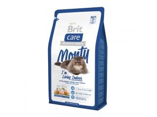 Brit Care Cat Monty с курицей и рисом для кошек, живущих в доме