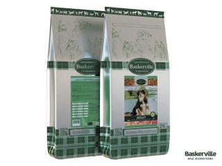 Сухой корм для собак Baskerville Adult 20 кг