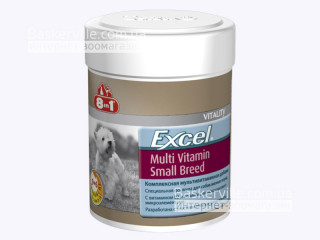 8in1 (8в1) EXCEL MULTI VITAMIN SMALL BREED Эксель Мультивитамины для собак мелких пород