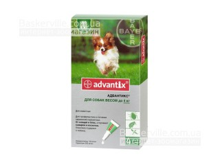 Advantix  для собак весом до 4кг