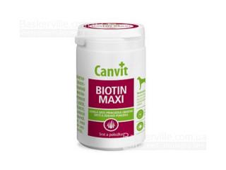 Canvit. BIOTIN MAXI. Здоровая кожа и блестящая шерсть. Витамины для собак, 230г