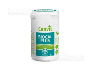 Canvit. BIOCAL PLUS. Минералы и колаген для улучшения подвижности. Витамины для собак, 500г