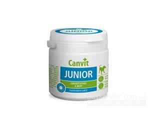 Canvit. JUNIOR. Здоровый рост и развитие. Витамины для щенков, 230г