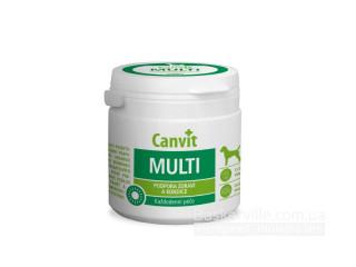 Canvit. MULTI. Здоровый рост и развитие. Витамины для собак, 500г