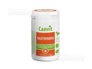 Canvit. NUTRIMIN. Ежедневное дополнение кормового рациона. Витамины для собак, 230г