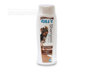 Gill's Shampoo. E Balsamo Olio Divisone. Шампунь с норковым маслом для блестящей шерсти собак, 200 мл