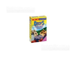 KIKI Drops Дропсы для грызунов (хомяков) с дикими ягодами, 100 г