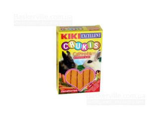 KIKI Crukis палочки для грызунов (кроликов) с морковью, 100 г