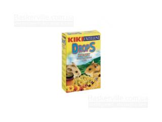 KIKI Drops Дропсы для грызунов (хомяков) с медом, 100 г