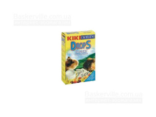KIKI Drops Дропсы для грызунов (морских свинок) с йогуртом, 100 г