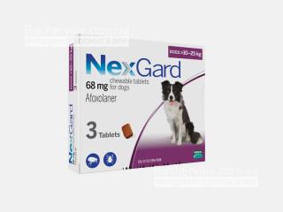 NexGard | НексГард | Таблетки от блох и клещей (10 - 25 кг)