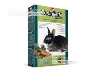 Padovan. Coniqlietti. Сбалансированный основной корм для кроликов, 850 г