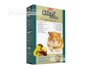 Padovan. Criceti GrandMix. Комплексный основной корм для хомяков, мышей и песчанок, 400 г