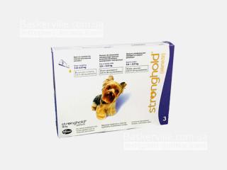 Stronghold (Стронгхолд)  Капли для собак (2,5-5 кг)