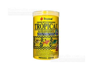 TROPICAL TROPICAL 250мл/50г (хлопья) корм с высоким содержанием белка
