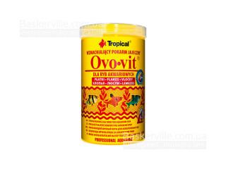TROPICAL OVO-VIT 100ml/20g хлопья с высок.содерж.яичн.желтка для всех видов рыб
