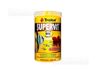 TROPICAL SUPERVIT Basic (хлопья) основ.корм с содерж. BETA GLUC