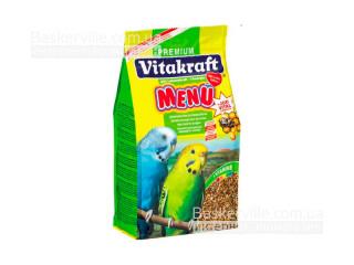 Vitakraft. Меню для волнистых попугаев с медом (500г)