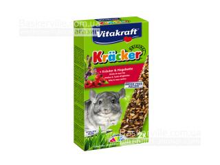 Vitakraft Kracker для шиншилл с травами, 2шт