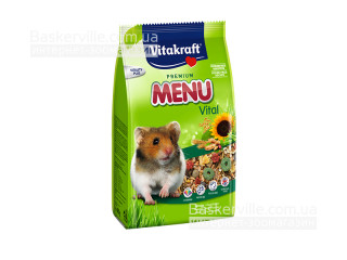 Vitakraft Menu Vital - Полноценный корм для хомяков, 400г