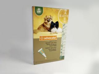 Капли Advocate от паразитов для собак до 4 кг