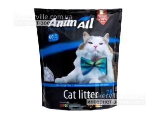 """AnimАll (Энимал) напонитель для кошек силикагель """"Кристаллы аквамарина"""" 3.8"""