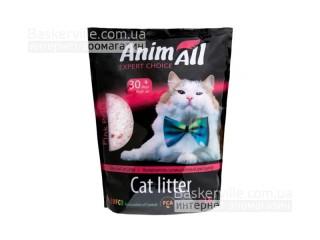 """AnimАll (Энимал) наполнитель силикагель для котов """"Розовый Лепесток"""" 3,8 л"""