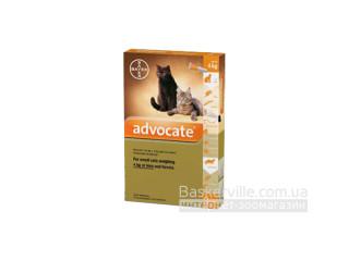 Advocate. Средство от паразитов. Для котов массой тела до 4 кг и хорьков