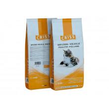 Сухой корм для взрослых и пожилых кошек Criss (Крисс) - Домашняя птица, 10 кг