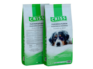 Сухой корм для взрослых собак Criss (Крисс) - Хлопья и мясо, 20 кг
