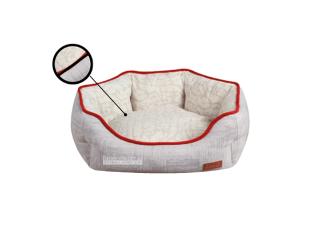 Croci Cozy Gray. Лежак для домашних животных мелких и средних размеров
