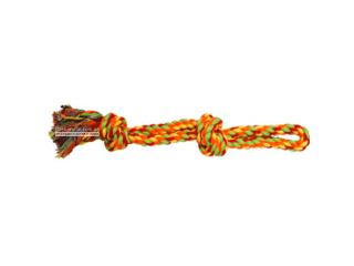 CaniAMici. Канат с узлом и петлёй для собак, 38 см