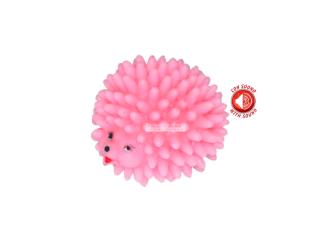 CaniAMici. Игрушка с сигналом для собак «Розовый ёж»