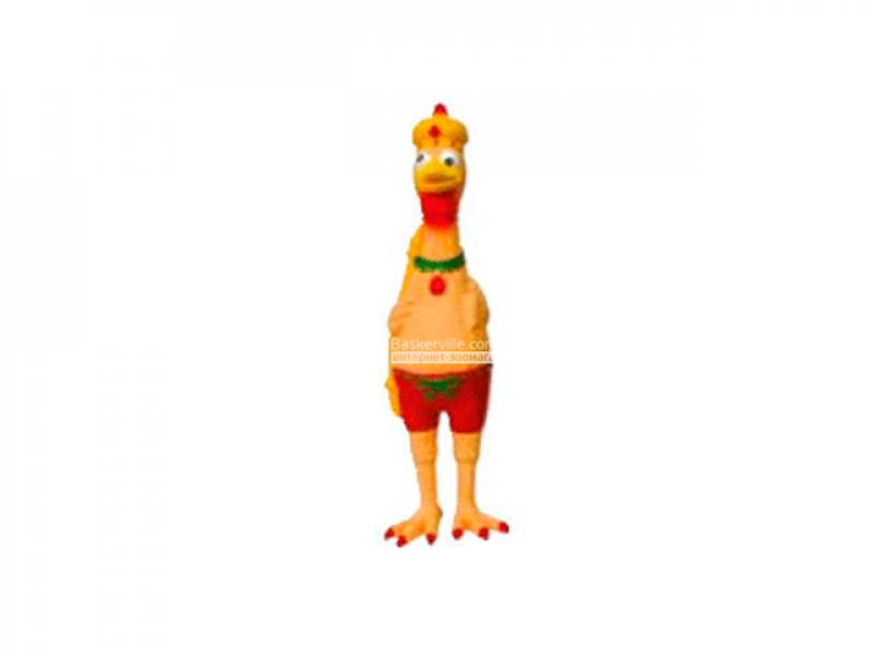 CaniAMici. Игрушка для собак «Королевская курица»