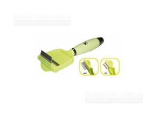 CROCI Фурминатор 2 в 1, силиконовая ручка, 7,5х20 см
